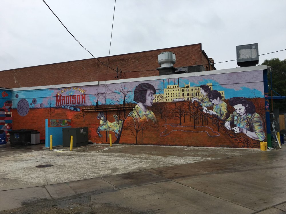 East Side of Madison Mural