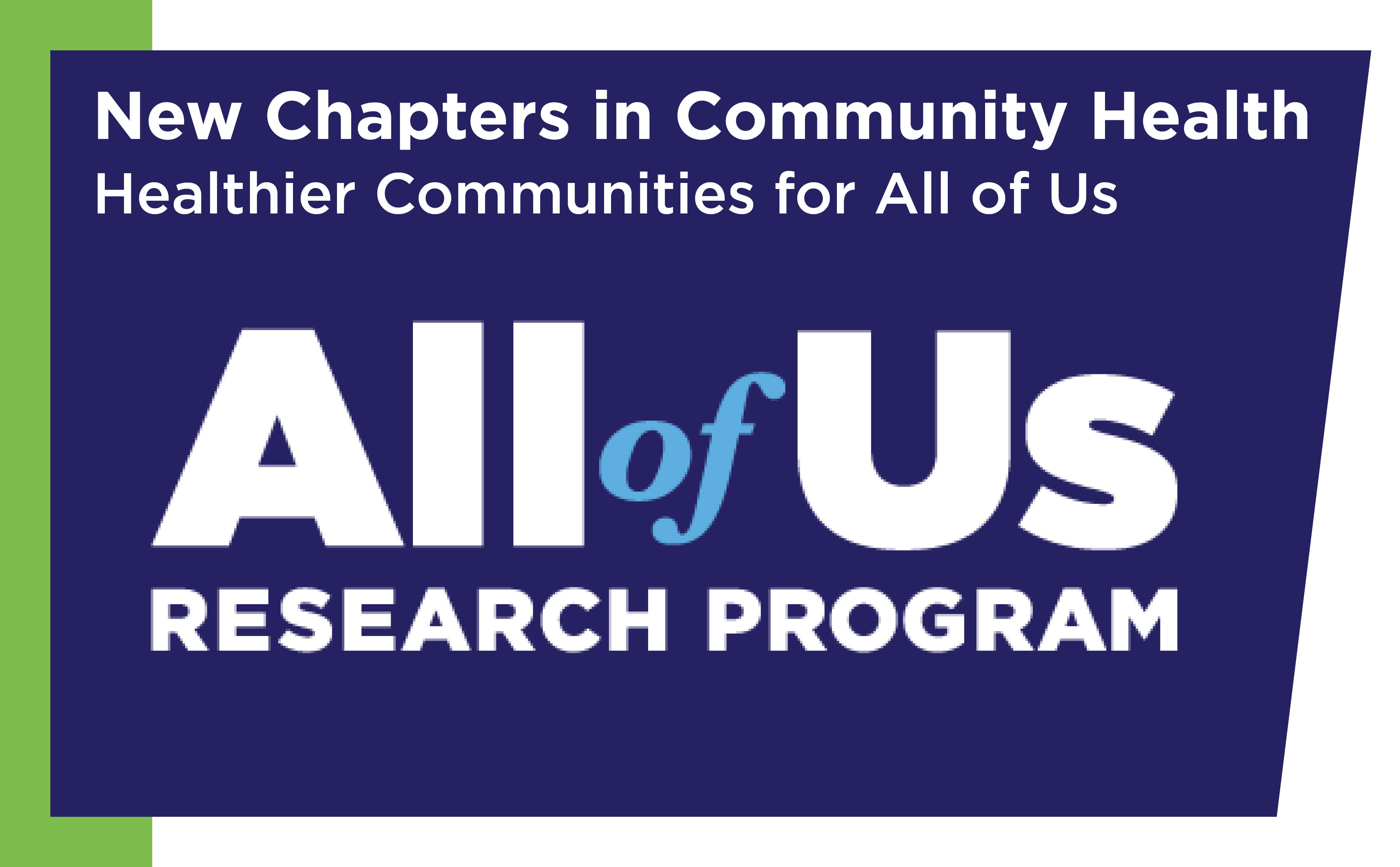 New Chapters in Community Health