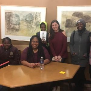 Meadowridge Teen Author Visit