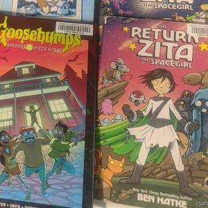"Graphic Novels ""Goosebumps"" & ""Zita"""