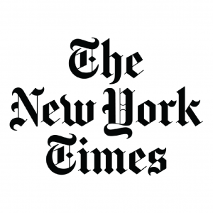 The New York Times newspaper logo
