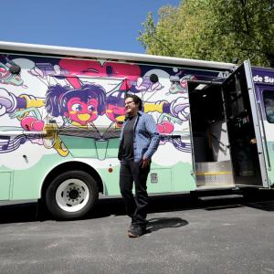 Madison.com Feature: Ricardo at the Dream Bus brings the books