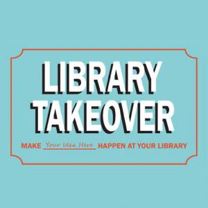 Library Takeover logo