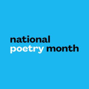 national poetry month wordmark