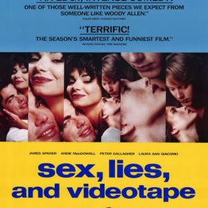 Sex, Lies, and Videotape film cover