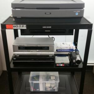 Archiving equipment available to patrons
