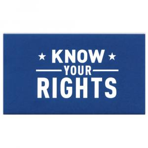 ACLU Know Your Rights logo