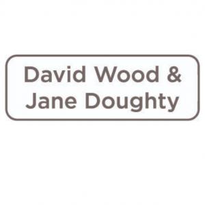 David Wood and Jane Doughty We Read Sponsor Logo