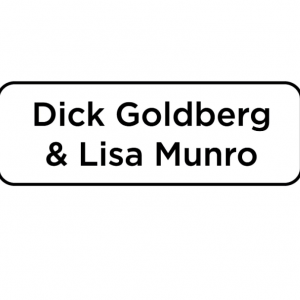 Dick Goldberg & Lisa Munro sponsor logo