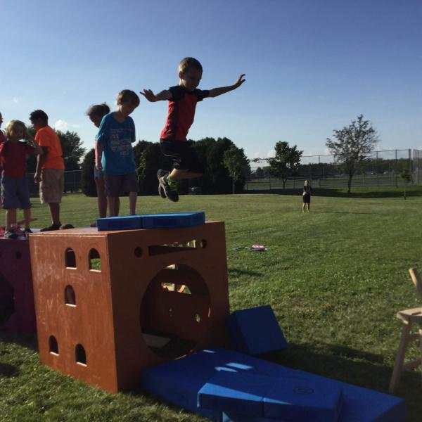 Kids Jumping at the Wild Rumpus