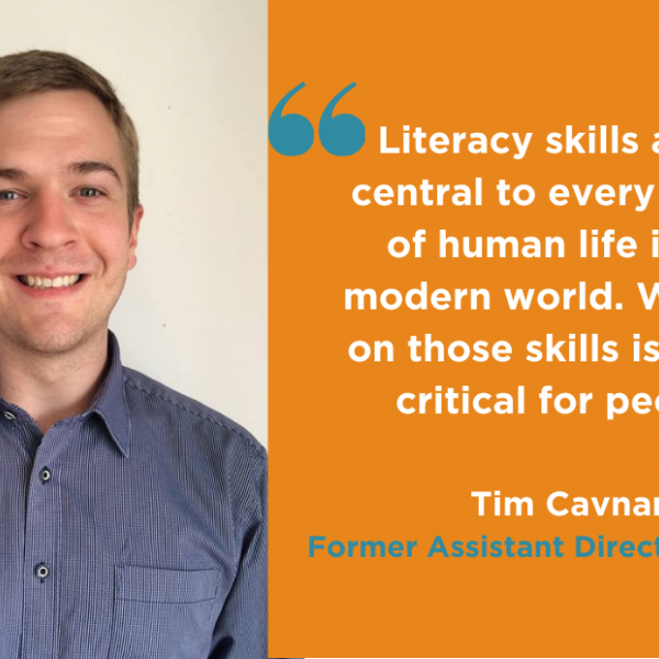 Tim Cavnar shares his experience with the Madison Writing Assistance program