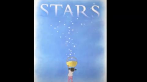 Book cover stars