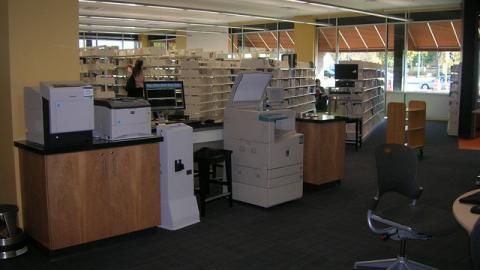Printing station at Goodman South Madison