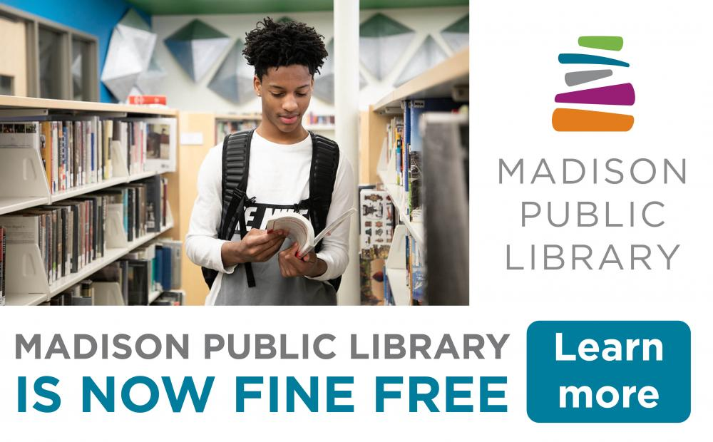 Madison Public Library goes Fine Free