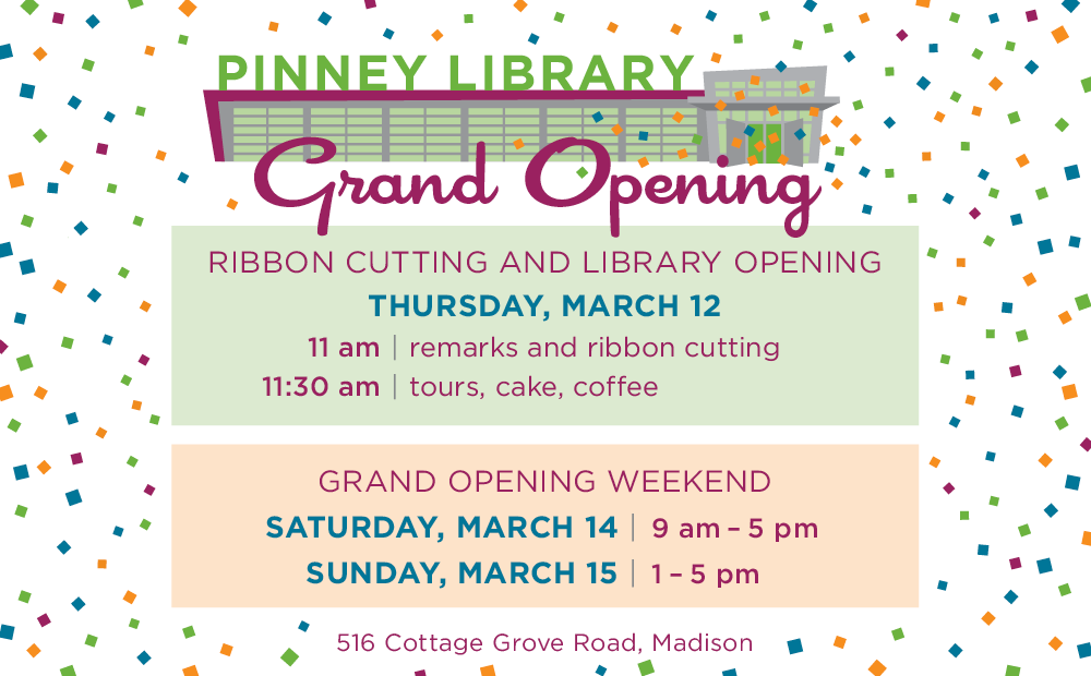 Pinney Library Grand Opening