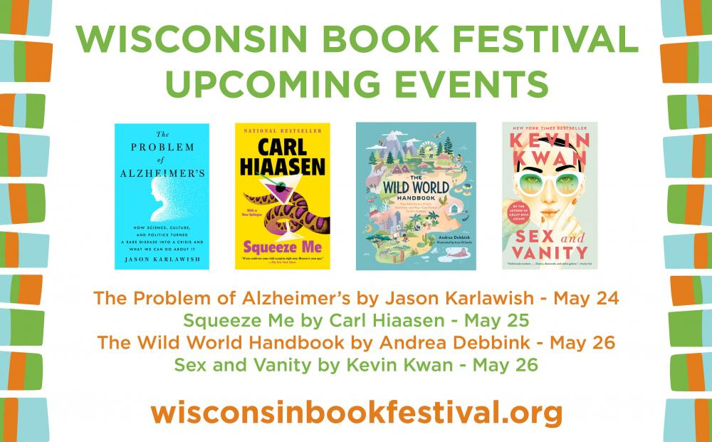 Wisconsin Book Festival Spring Lineup 2021