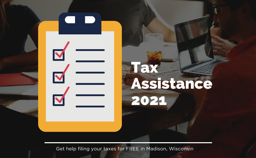 2021 Tax Assistance from Madison Public Library
