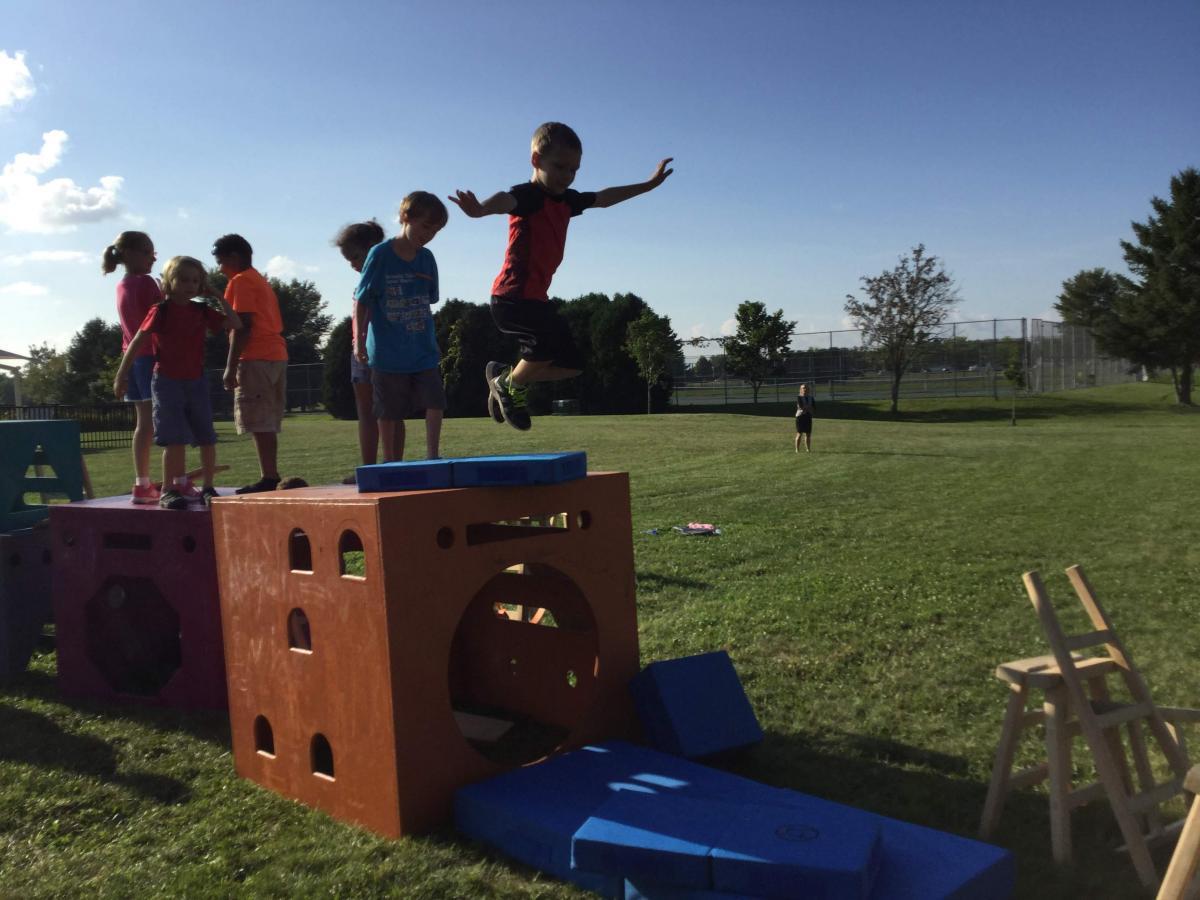 Kids Jumping at the Wild Rumpus
