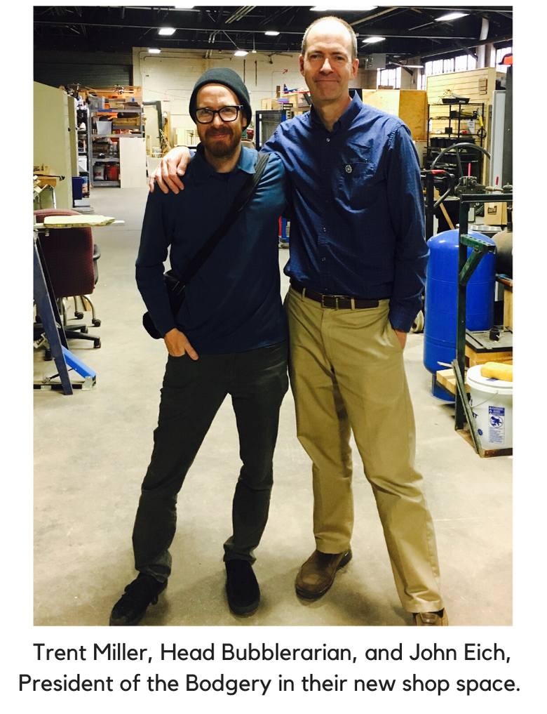Trent Miller and John Eich