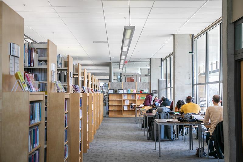 Madison Public Library interior photo