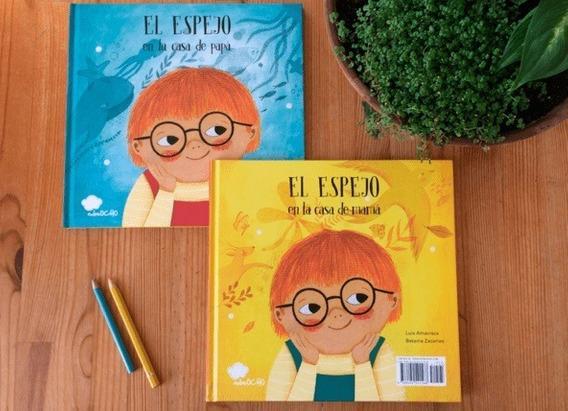Spanish Art of the Picture Book Collection: El espejo en la casa de mama