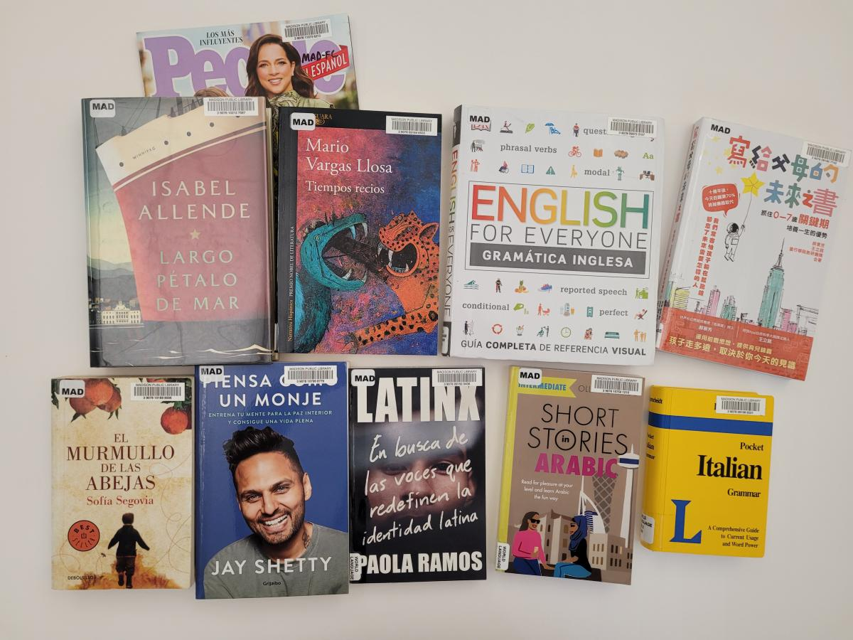 World Languages Collection at Madison Public Library