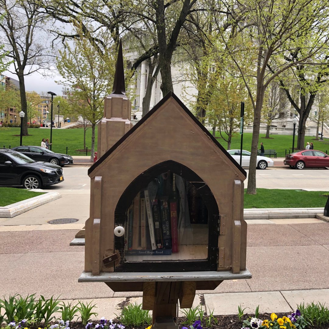 Church Little Free Library near the Capitol
