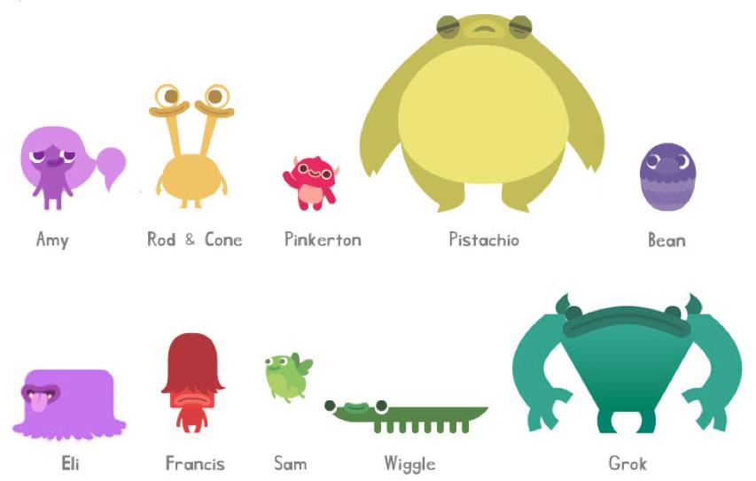 screenshot of creatures from Originator