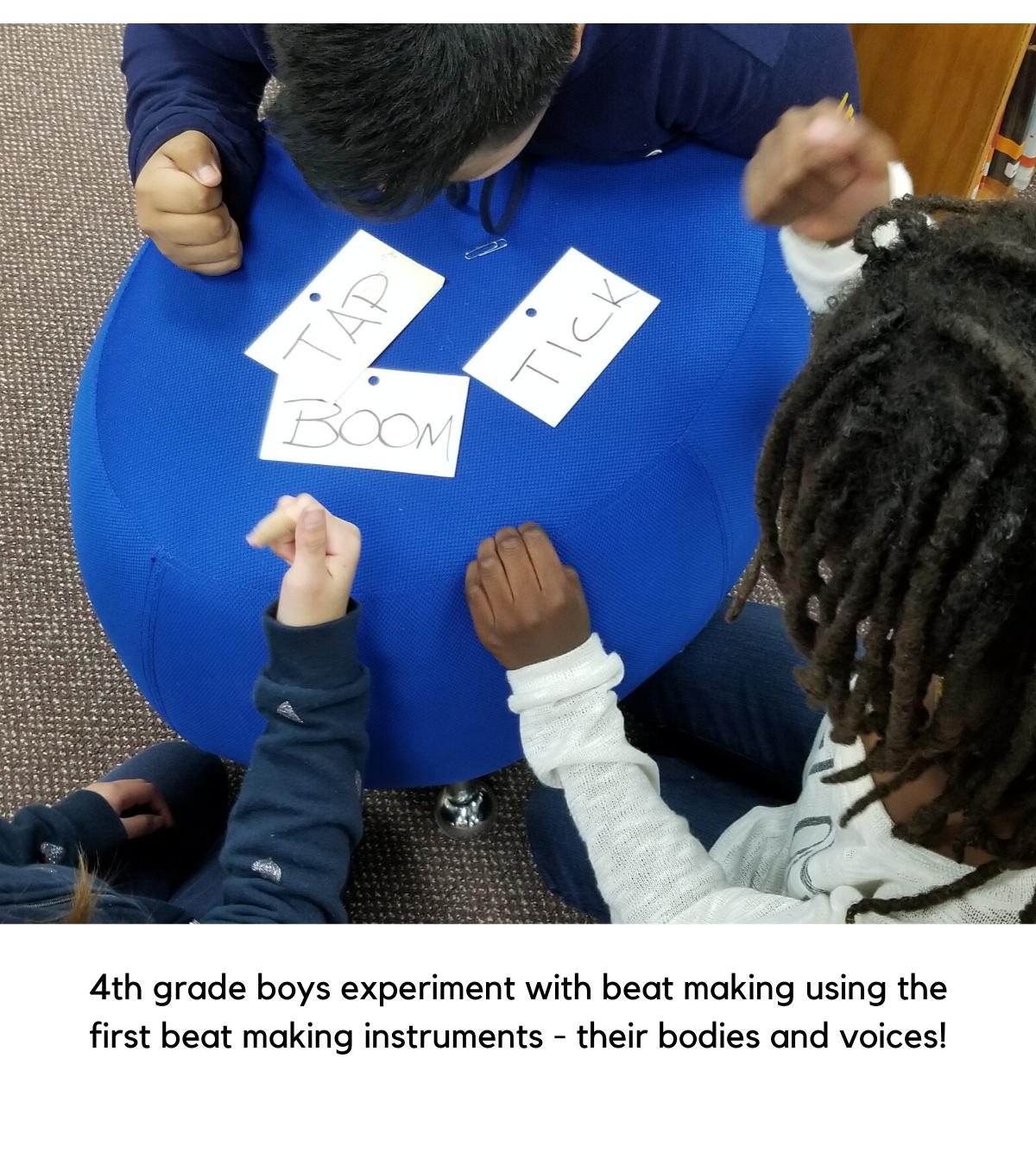 4th graders explore beats