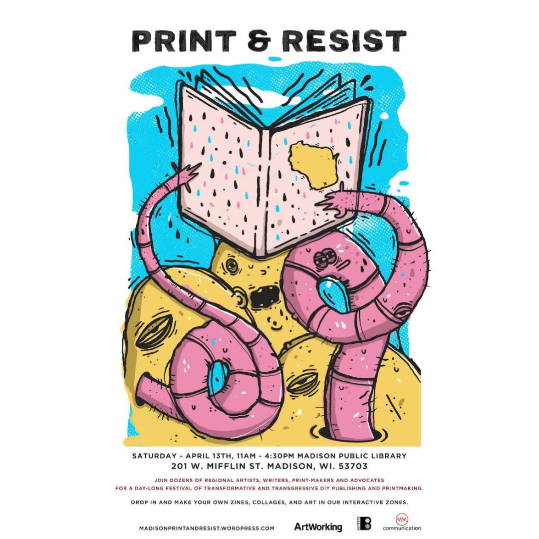 Print & Resist Poster