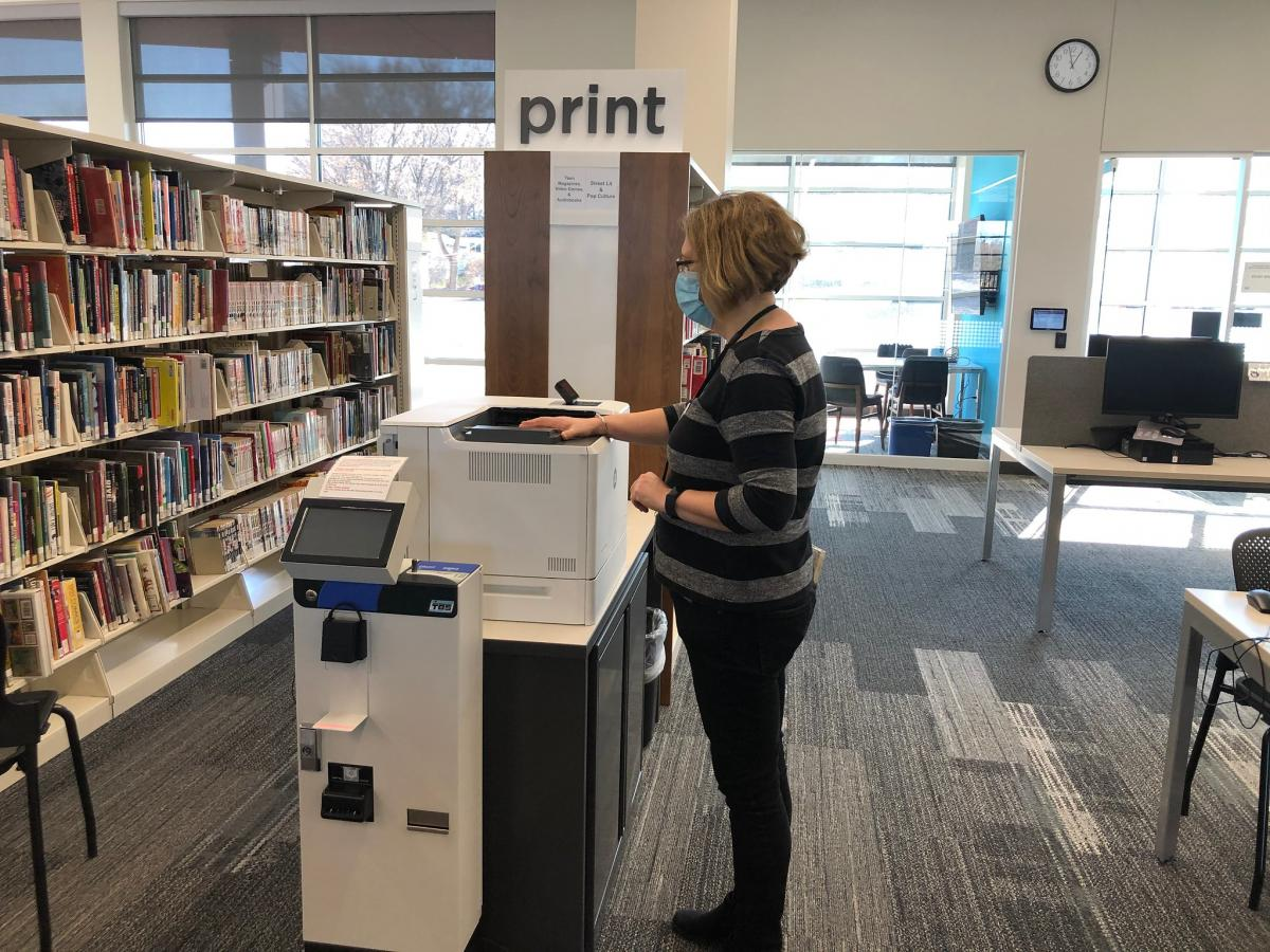 Print Services are available at all libraries