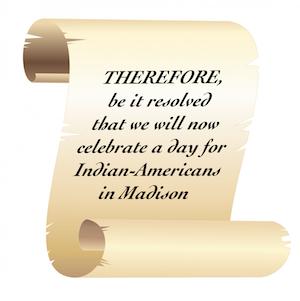 Mayoral Proclamation scroll