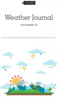 Tinybop Weather Journal
