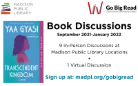 Go Big Read Discussions at Madison Public Library