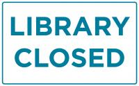 Library Closed