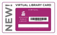 New virtual library card