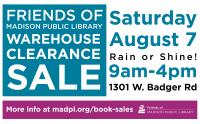 Friends of Madison Public Library Book Sale