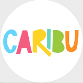 colorful letters spell out Caribu