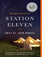 Station Eleven book cover graphic