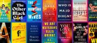 Book covers from Crime Reads article