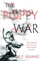 Book cover of The Poppy War by R. F. Kuang