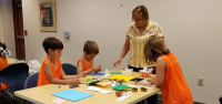 Watch Art with Amy videos to learn about fun craft projects using everyday materials.