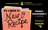 Ex Libris New Recipe is November 5, 2021 at Central Library